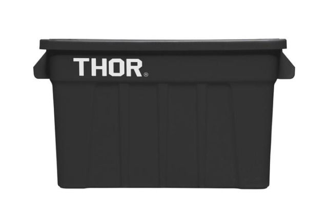 THOR Large Totes with Lid 75L / Black