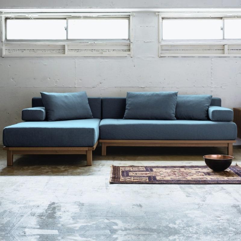 rect. unit sofa